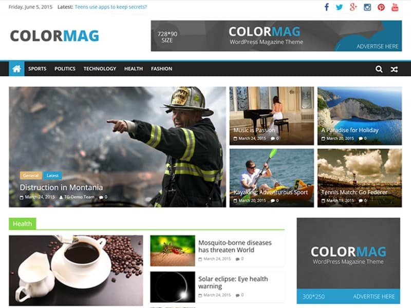 Wordpress Thema ColorMag https://www.kylianswebdesign.nl/