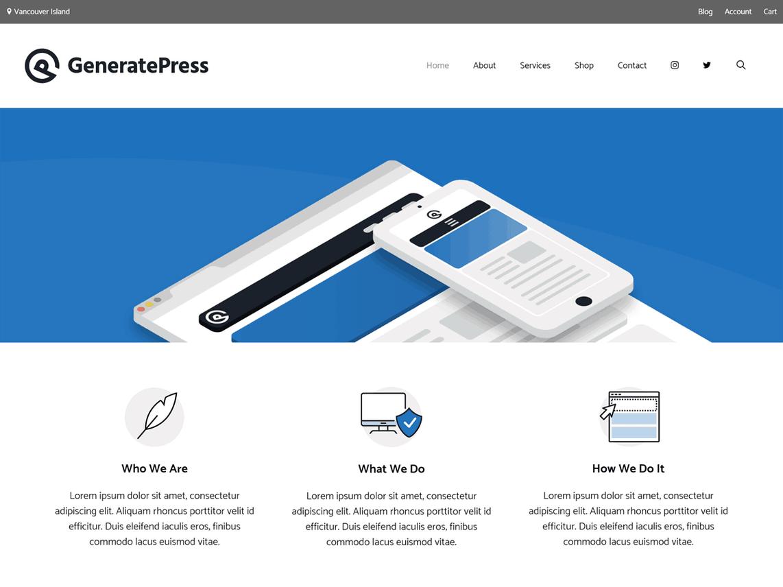 Wordpress Thema GeneratePress https://www.kylianswebdesign.nl/