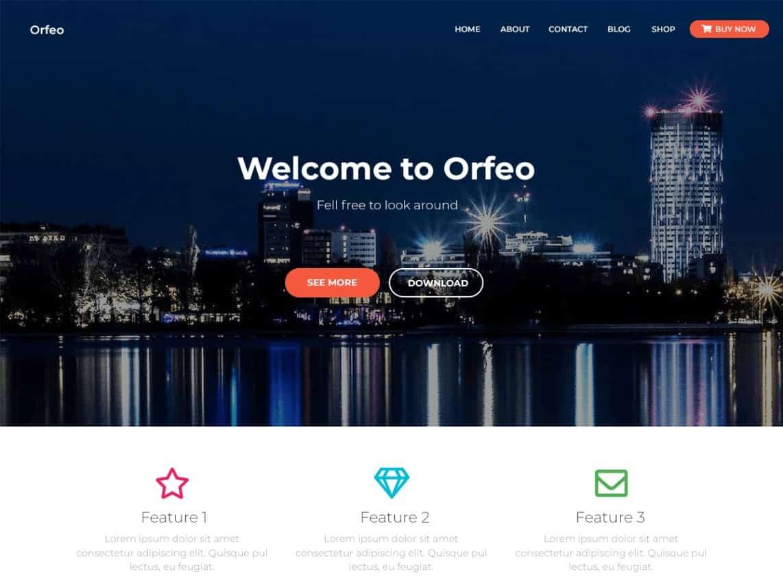 Wordpress Thema Orfeo https://www.kylianswebdesign.nl/