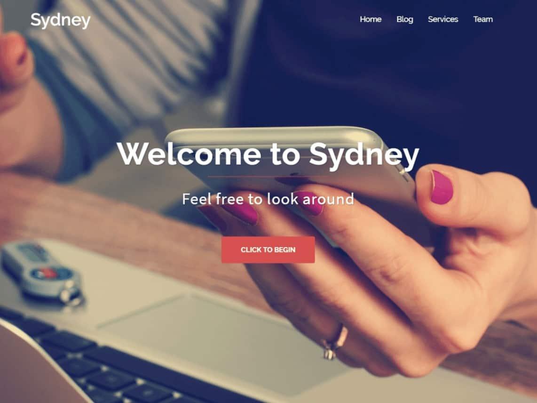 Wordpress Thema Sydney https://www.kylianswebdesign.nl/