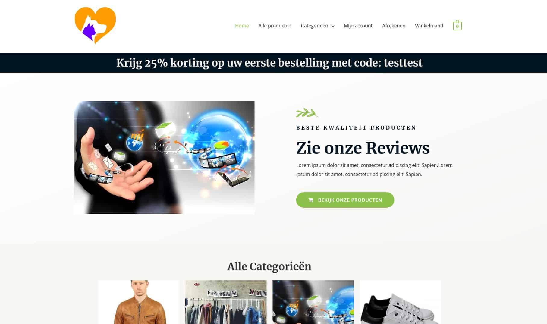 Mode Webshop Kylianswebdesign